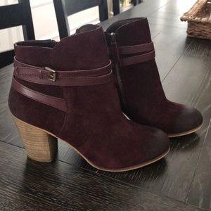 BP leather Maroon Boots